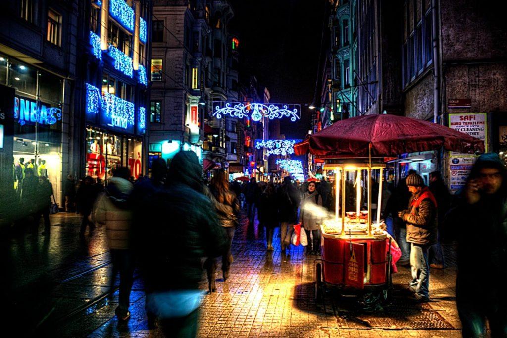نتيجة بحث الصور عن شارع الجمهورية يلوا تركيا