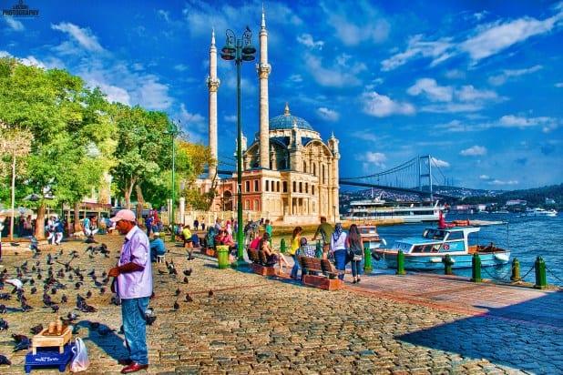 نتيجة بحث الصور عن ساحل اورتاكوي في اسطنبول
